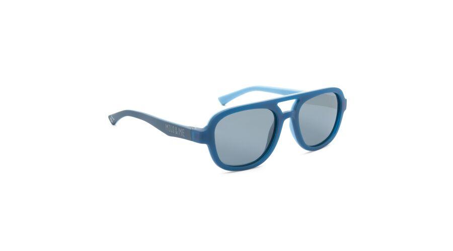 Sun Milo & Me 84080 Dk Blue/lt Denim Polarized Grey 46-16