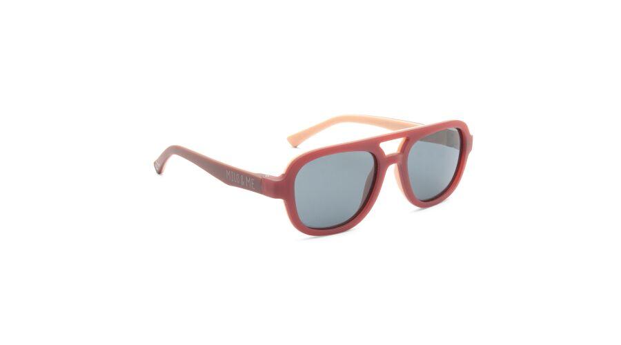 Sun Milo & Me 84080 Dusky Pink/peach Polarized Grey 46-16
