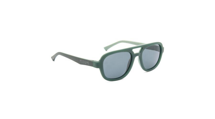 Sun Milo & Me 84081 Grey Green/lt Grey Green Polarized Grey 48-17