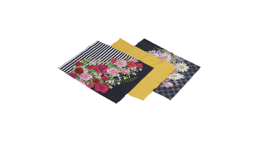 Tri-Pak: Optiplus Flowers W/case