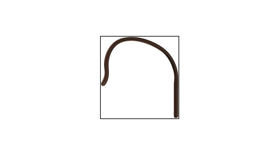 ULTRA THIN CBL CONV ENDS:NYL,BRN,.80MM-3PR