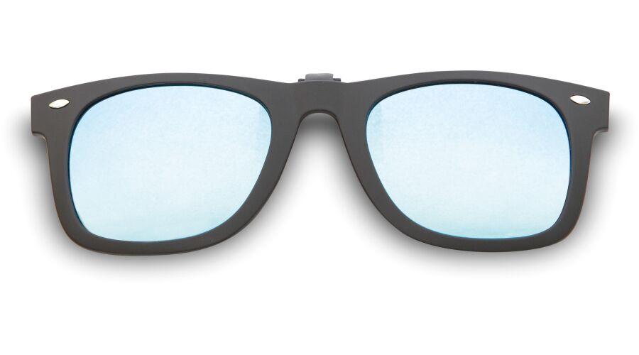 WAYCOOL SR FLIP-UPS BLACK/BLUE MIRROR, POLARIZED